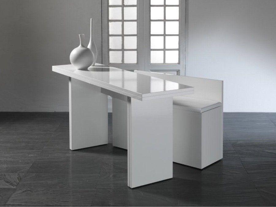 consolle trasformabile in tavolo